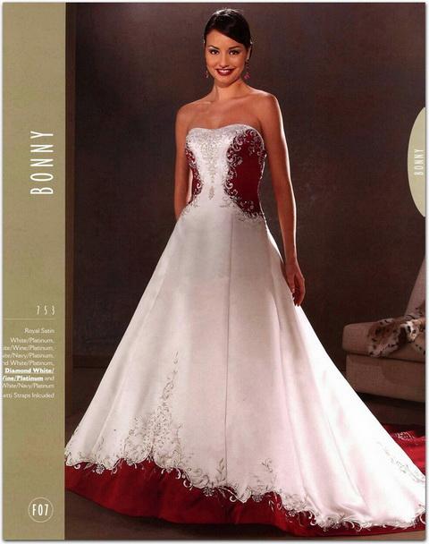Krááásne červeno-biele šaty - Obrázok č. 52