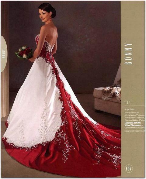 Krááásne červeno-biele šaty - Obrázok č. 53