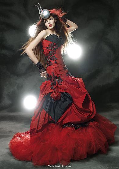 Krááásne červeno-biele šaty - Obrázok č. 54