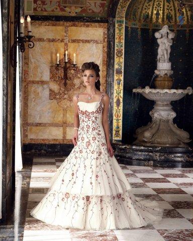 Krááásne červeno-biele šaty - Obrázok č. 55
