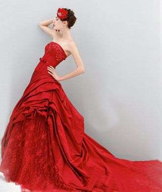 Krááásne červeno-biele šaty - Obrázok č. 64