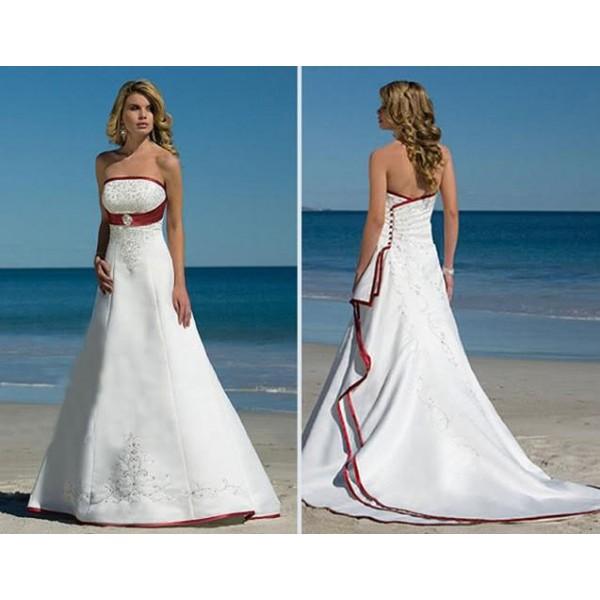 Krááásne červeno-biele šaty - Obrázok č. 66
