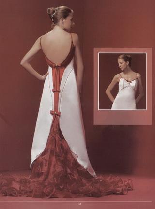 Krááásne červeno-biele šaty - Obrázok č. 67