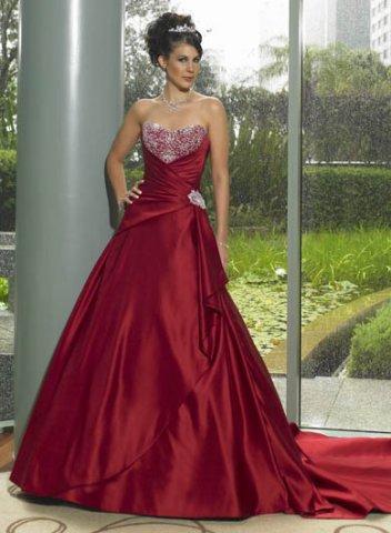Krááásne červeno-biele šaty - Obrázok č. 69