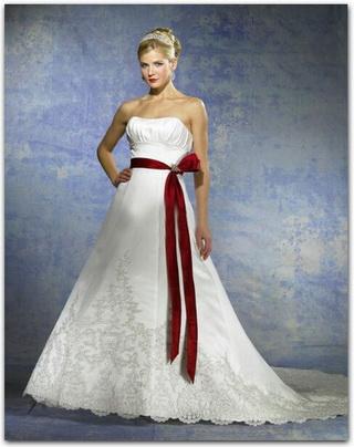 Krááásne červeno-biele šaty - Obrázok č. 71