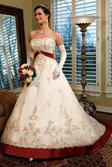 Krááásne červeno-biele šaty - Obrázok č. 73