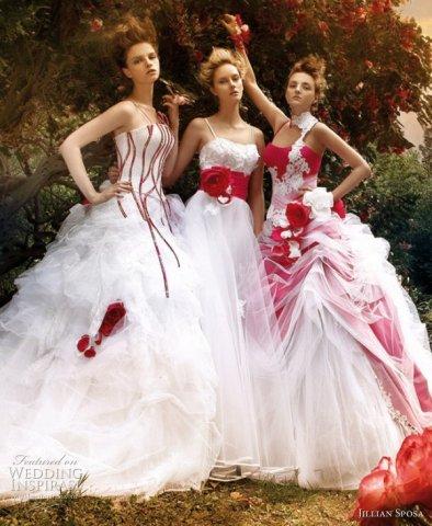 Krááásne červeno-biele šaty - Obrázok č. 82