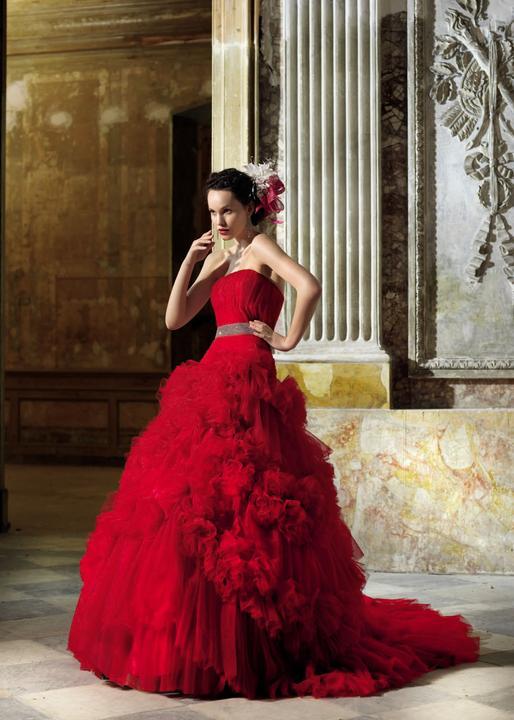 Krááásne červeno-biele šaty - Obrázok č. 83