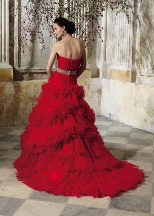 Krááásne červeno-biele šaty - Obrázok č. 84