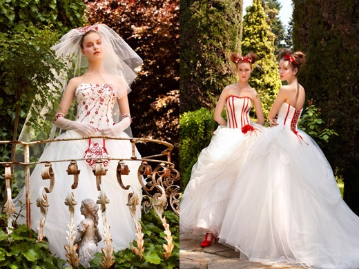 Krááásne červeno-biele šaty - Obrázok č. 88