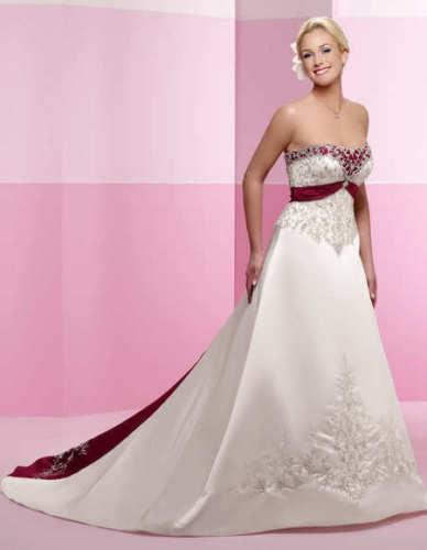 Krááásne červeno-biele šaty - Obrázok č. 92