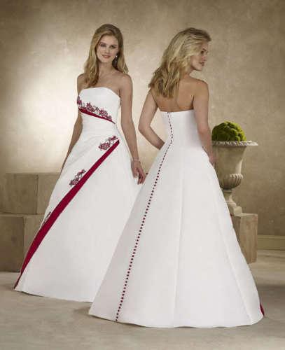 Krááásne červeno-biele šaty - Obrázok č. 93