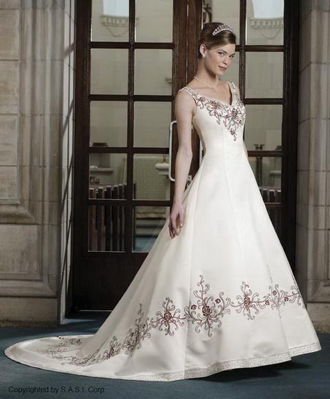 Krááásne červeno-biele šaty - Obrázok č. 94