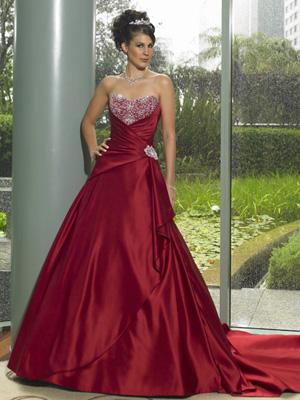 Krááásne červeno-biele šaty - Obrázok č. 95