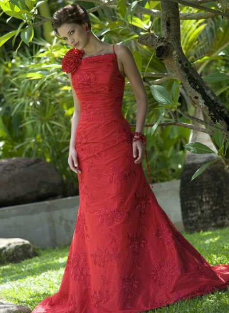Krááásne červeno-biele šaty - Obrázok č. 96