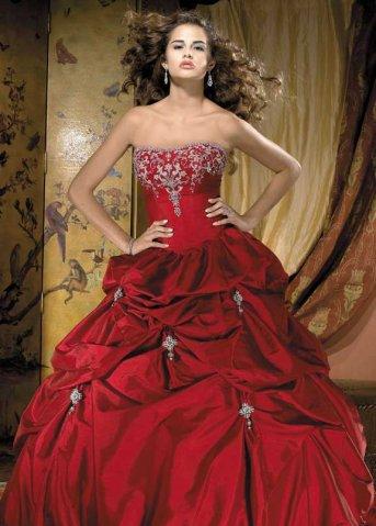 Krááásne červeno-biele šaty - Obrázok č. 100
