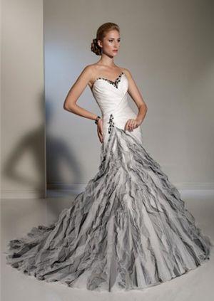 Krááásne čierno-biele šaty - Obrázok č. 180