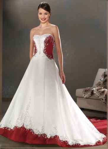 Krááásne červeno-biele šaty - Obrázok č. 6