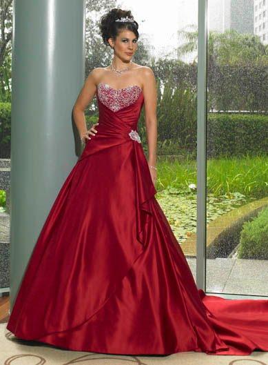 Krááásne červeno-biele šaty - Obrázok č. 10
