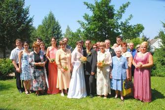 celá svatba