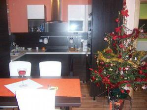 nová kuchyň-ještě pár věcí chybí..........