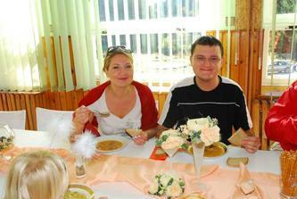 raňajky na chate boli úžasné, slnečné a nádherné prebudenie sa do manželstva
