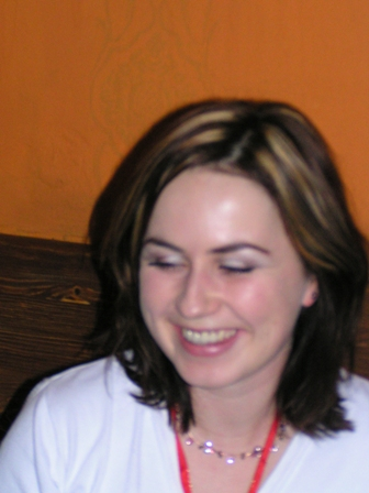 Bosoracke stretko 13.12.2005 BA - no ako jej to svedci ked sa usmieva ako stastne vydata:)