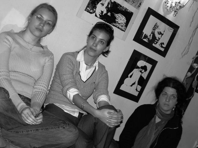 Stretko snažiliek a nesnažiliek, v BA 10.4.2006 - and, luc, dadulienka