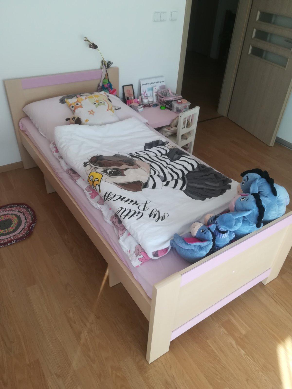 Dievčenská posteľ - NOVÁ CENA - Obrázok č. 3