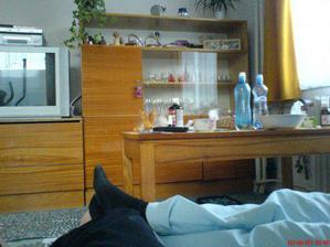 obývák ve starém, jediná fotka:-(