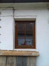 Nová okna - dřevěná eurookna