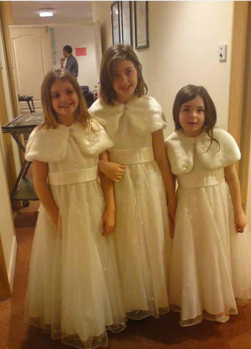 Wedding stuff - my three flower girls :)