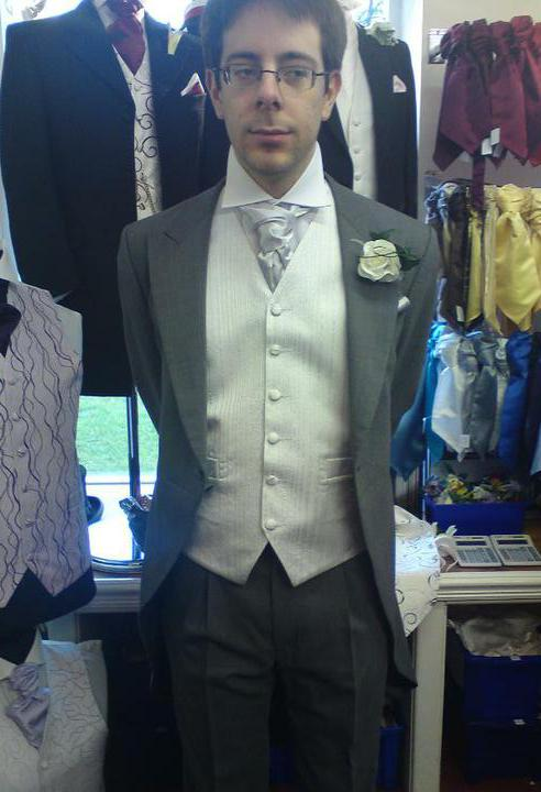 Wedding stuff - Tony's suit