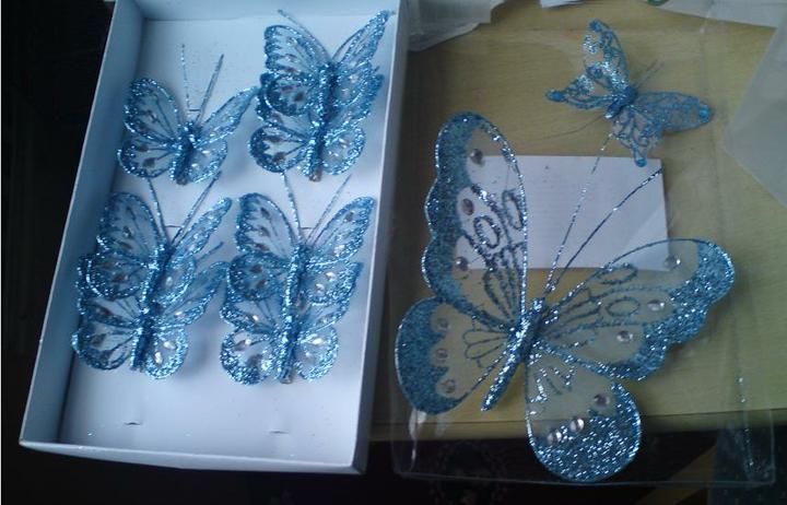 Wedding stuff - Butterflies for decoration