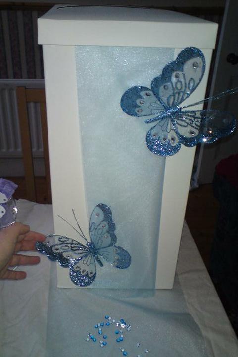 Wedding stuff - idea for wedding postbox?