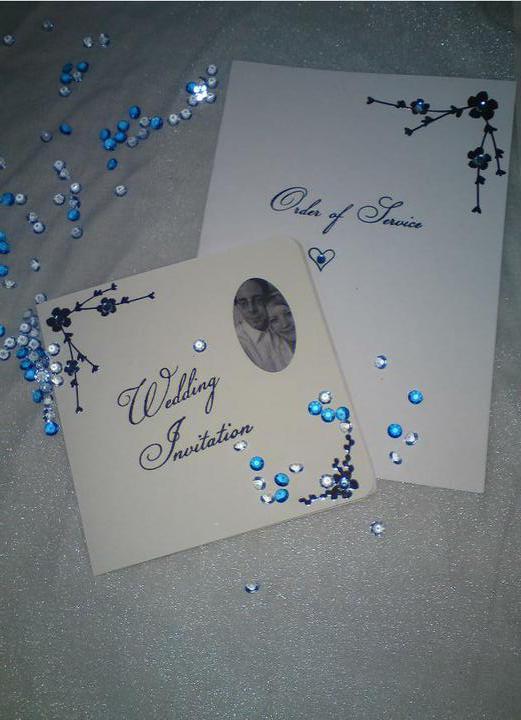 Wedding stuff - invite and order of service