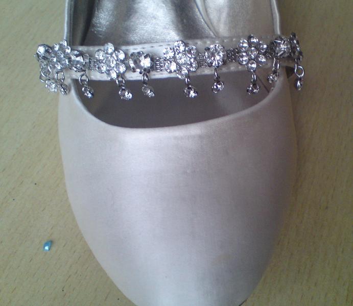 Wedding stuff - shoe detail