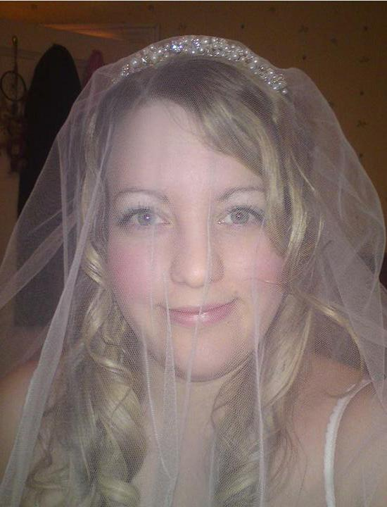 Wedding stuff - tiara 1 with veil