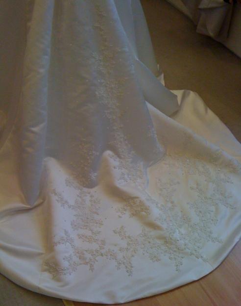 Wedding stuff - dress detail