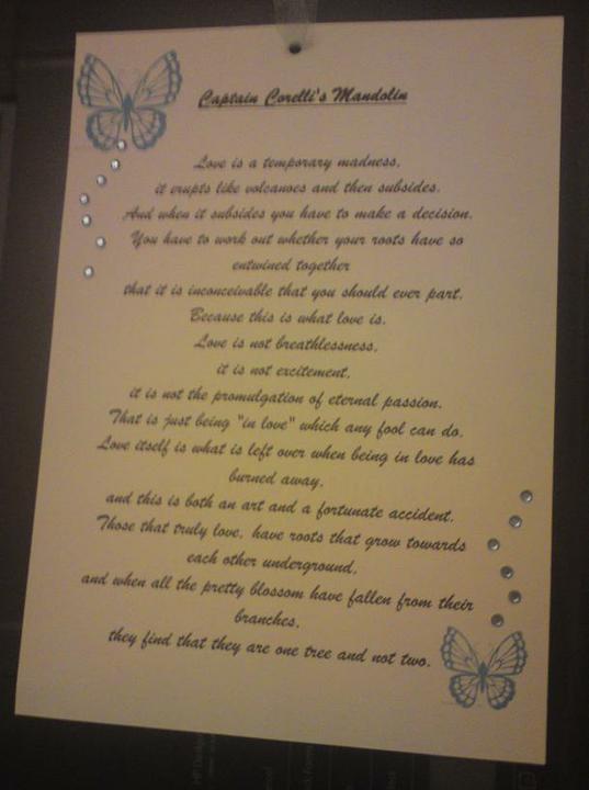 Wedding stuff - quotes to hang around reception :)
