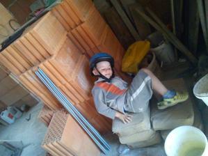 Náš velký murár - pomocník Tadi