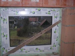 Schodištové okno