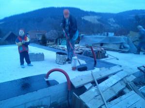 Penetrovanie zakladových pásov pod tehly