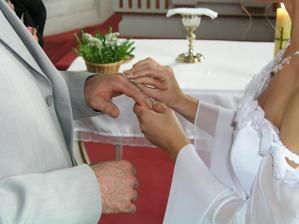 navlékání prstýnků