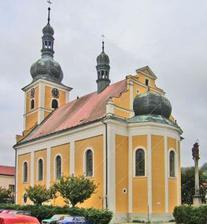 vybraný kostel z místa odkud pocházím