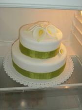 náš dortík, ještě nedodělaný...