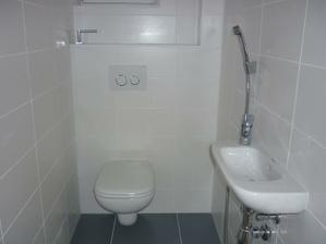 takmer dokončené wc