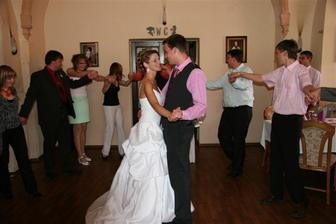 nas prvni svatebni tanecek