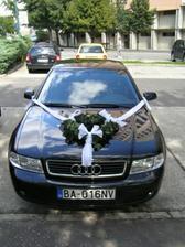 svadobné autíčko....ďakujeme Viki