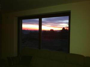 východ slnka u nás